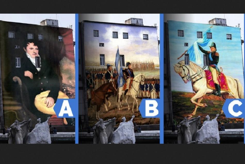 Semana de la Bandera: se pintará un mural para recordar a Manuel Belgrano