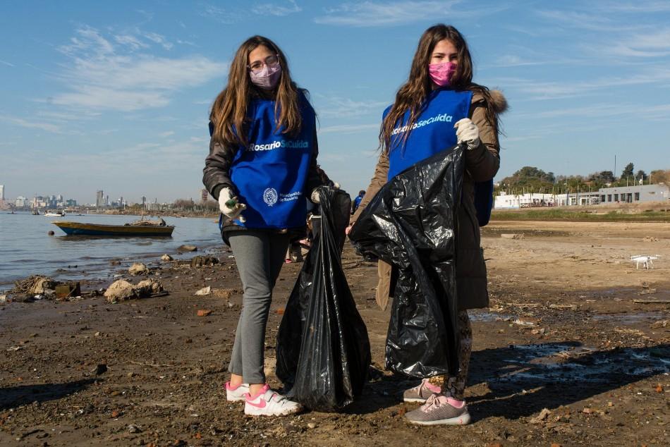 El municipio convoca a participar de una nueva jornada de limpieza del río Paraná y sus costas